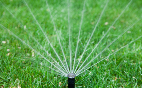 underground sprinklers